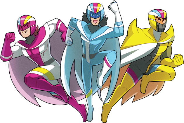 Group illustration of Starbomb